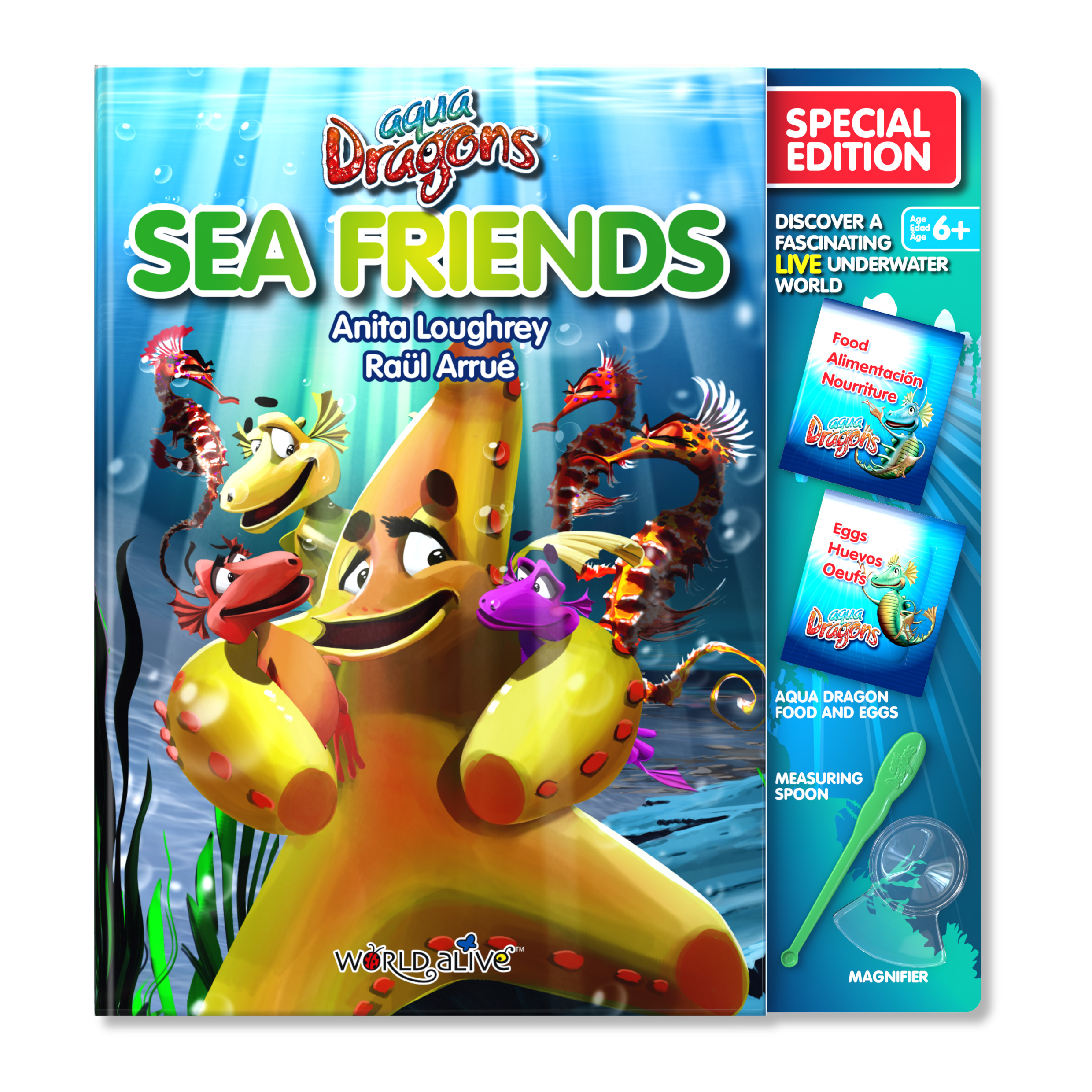 AD Sea Friends Book and Insert