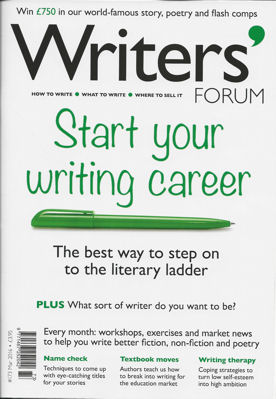 Writers Forum magazine small